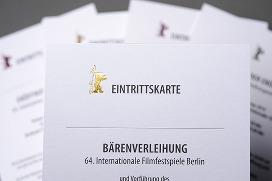 Berlinale 2014 Invitations